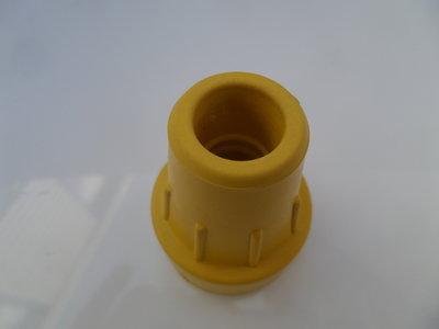 stootrubber geel